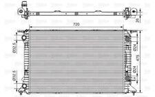 VALEO Radiador, refrigeración del motor AUDI A4 Q5 A5 735472