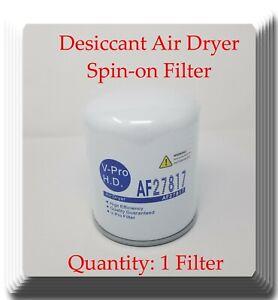Brake Air Dryer Filter AF27817 Fits: Freightliner Kenworth Peterbilt Mack