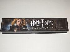 Harry Potter Costume Hermione Granger Wand Illuminating Tip EUC box/instructions