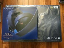 PlayStation 4 Pro 2TB 500 Million Limited Edition W/HEADSET+ Controller (NEW)