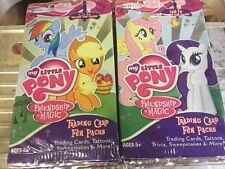 My Little Pony Trading Card Fun Packs, LOT Of 36 Packs With Cards Tattoos + More