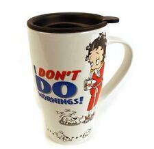 I Don't Do Mornings Travel Mug Betty Boop Bp2009