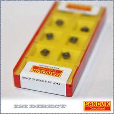 880 02 02 W05H-P-GR 4044 SANDVIK *** 10 INSERTS ** FACTORY PACK **