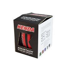 KENDA Kountach K1092 700 x 23C 23-622 Road Bike Folding Tire Tyre - Red