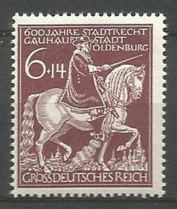 Germany (Third Reich) 1945 MNH - 600th Anniversary of Oldenburg - Mi: 907 SG 895
