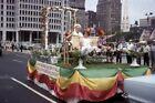 SM2 aa Vintage Photo 35mm Slide-Philadelphia Pennsylvania PA Shriner Parade 1972