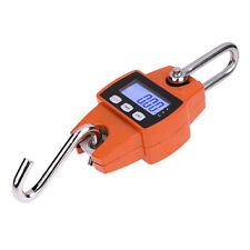 Digital 300 KG/600 LBS Crane Scale / Industrial Hook Hanging Weight Crane Scale#