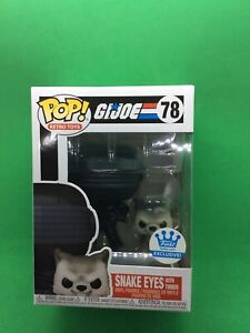 Funko Pop! Snake Eyes With Timber #78 Funko Shop Exclusive GI Joe + Protector