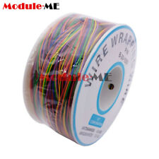 8 Wire Breadboard Jumper Colored Insulation 280m 30 Awg Wrapping Cable B 30 1000