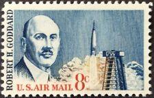1963 8c Goddard airmail single, Scott #C69, MNH, VF