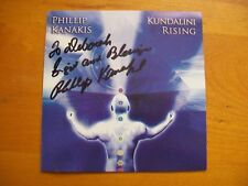 Kundalini Rising by Phillip Kanakis (CD, Nov-2006, Nandana) Signed/Inscribed