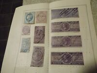 Queen Victoria  Chancery Court high value used stamps
