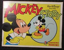 1982 MICKEY Mouse STORY Panini Sticker Album FN- 5.5 w/ 18 Loose Stickers +++