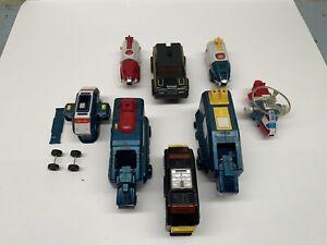 Vintage Voltron Dairugger Vehicles 1982