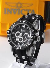 Invicta Pro Diver Stainless Steel Black Rubber Chronograph 50mm Mens Watch 23696