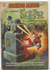 Domingos Alegres- El Doctor Solar #594 Aug 1965 Mexican CBX16A