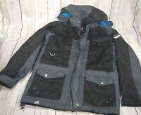 Arctix Boys Edge Insulated Winter Jacket, coat Medium, Steel gray damaged
