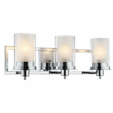 Polished Chrome Juno Series 3 Light Bath & Wall Fixture: 73471