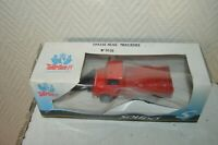 CHASSE NEIGE MERCEDES POMPIERS SOLIDO 1/50 NEUF BOITE 3606 METAL