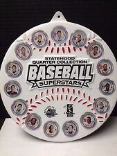 STATEHOOD QUARTER'S BASEBALL SUPERSTARS COLLECTION MICHIGAN EDITION 16 IN ALL