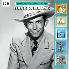"""Hank Williams """"5 Timeless Classic Albums"""" 5 X CD SET - NEW & SEALED"""