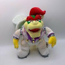 """Super Mario Odyssey Bowser Koopa Wedding Costume Plush Soft Toy Doll Big 13"""""""