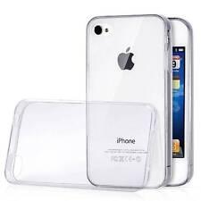 Housse Coque Etui Gel TPU Transparent pour iPhone 4 4S