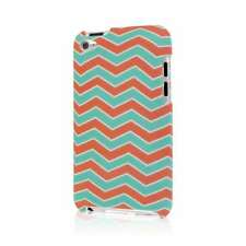 MPERO SNAPZ Series Case for Apple iPod Touch (4th Gen) - Mint Chevron