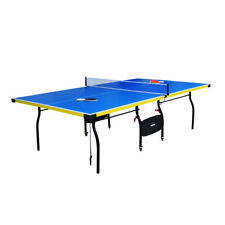 Carmelli Table Tennis Bounce Back 9 Ft Ping Pong table w/ Accessories Black