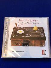 neuf emballé Luc Ferrari Exercices d'improvisation (2014) CD