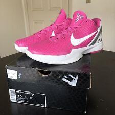 Nike Zoom Kobe VI 6 Kay Yow Size 10 men's Think Pink Bryant