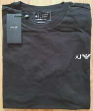 Mens Armani Jeans T-Shirt, Short Sleeve, Crew Neck, 100% Cotton