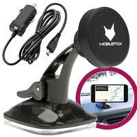 Auto Handyhalterung Smartphone Halter + KFZ Ladekabel | Universal Halterung