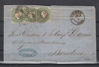 BN6733/ PORTUGAL – Y&T # 16 (x3) ON LETTER