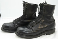 VTG RED WING USA LEATHER STEEL TOE RIDING FRONT ZIP BIKER WORK BOOTS MENS SZ 10