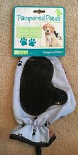 Nwt Pampered Paws 3 In 1 Grooming Bathing Fur Removal Pet Dog Cat Mitt