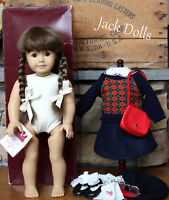 Restored White Body MOLLY American Girl Doll Box Clothing Accessories TAG INSIDE