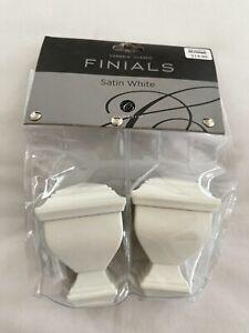 """Cambria Classic Napoleon/ Orbit Finials For Cambria 5/8""""Drapery Rods & Holdbacks"""