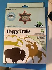 making memories slice  design card- happy trails