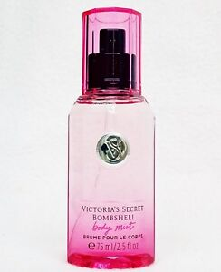 1 Victoria's Secret BOMBSHELL Mini Fragrance Mist Travel Spray VANILLA PEONY