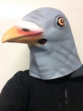 Pigeon masque latex tête complète fancy dress party stag animal masques
