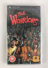 PSP The Warriors, UK Pal, Brand New & Factory Sealed, Flawed
