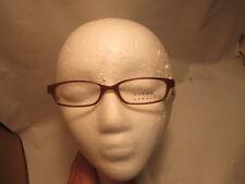 NEW Norma Kamali 7190 BUTTERSCOTCH Eyeglass Frames 48-16-140  FLEX HINGES E845