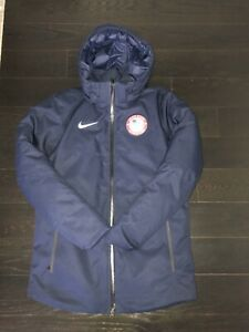 Nike USA Olympic 550 Down Parka Jacket