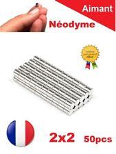 Lot 50 Aimants Puissant Neodyme  2 X 2 mm  Photo, Magnet, Fimo, Scrapbooking...