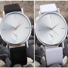 Fashion Design Dial Leather Band Analog Quartz Women's Wrist Watch NEW