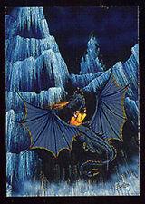 JANNY WURTS - Metallic Storm Chase Card M3 - Dragon Flight