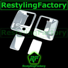 99-14 Ford Super Duty+Excursion Chrome 2 Door Handle w/o passenger keyhole Cover