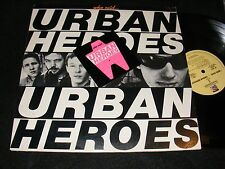 Dutch Punk/ New Wave Lp URBAN HEROES Who Said... US issue with Cover Hype Stickr