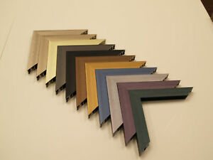 Custom Cut Picture Frame - Sectional Metals - CMI Metal Moulding M24